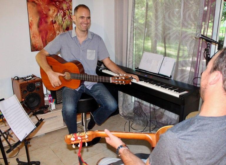 Ateliers et cours de musique tous instruments, guitare, clavier, percussions, chant