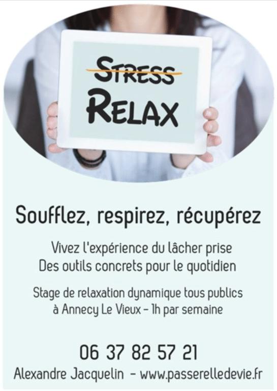 lâcher prise sur le stress