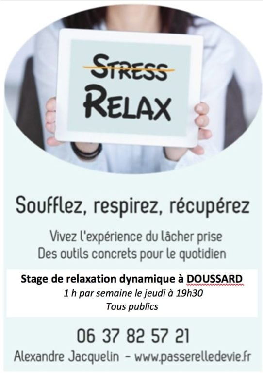 STAGE DE GESTION DU STRESS DOUSSARD